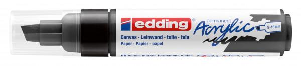 edding 5000 Acrylmarker 5 - 10 mm schwarz