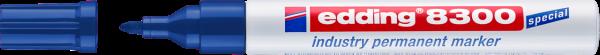 edding 8300 Industrie Permanentmarker blau