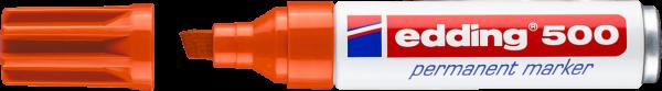 edding 500 Permanentmarker orange