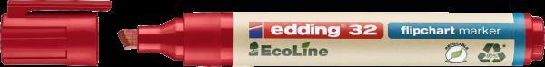 edding 32 EcoLine Flipchartmarker rot