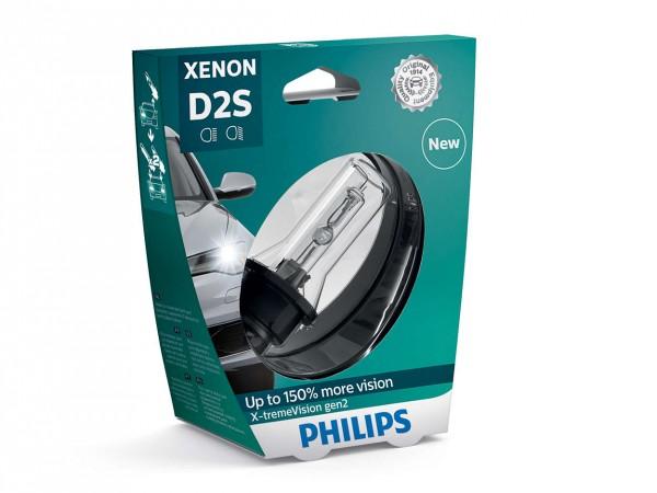 Philips Xenon X-tremeVision gen2 D2S P32d-2 35 W 85 V (1er Blister)