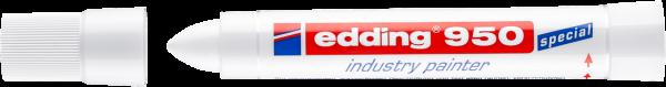 edding 950 Industrie Pastenmarker weiß