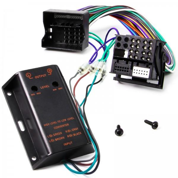 Adapter Universe Verstärker 2 Kanal Chinch Adapter Kabel auf Quadlock Ausgang Verlängerungskabel Hig