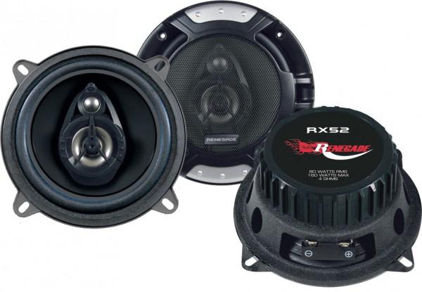 Renegade Koax-System 2-Wege RX-52 13cm 80 Watt 4 Ohm