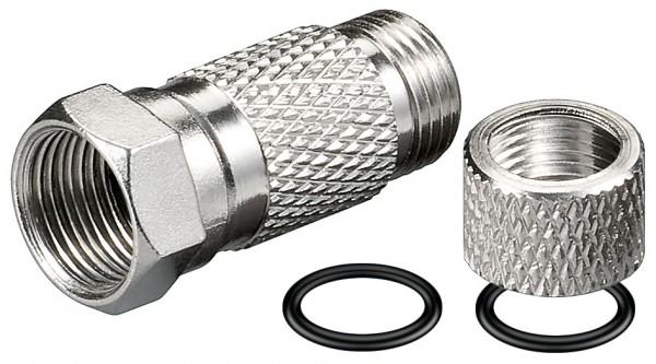 F-Stecker,wassergeschützt Für Kabel Außen-ø 7,3 mm