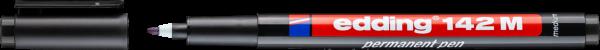 edding 142 M Permanenter Folienschreiber schwarz