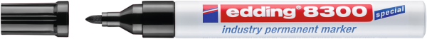edding 8300 Industrie Permanentmarker schwarz