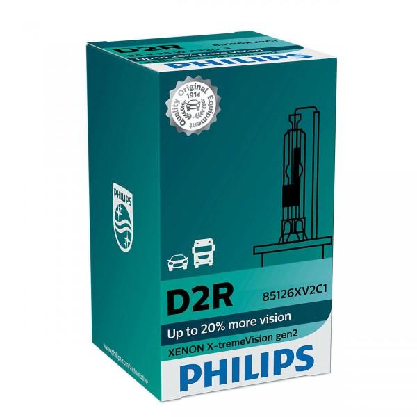 Philips Xenon X-tremeVision gen2 D2R P32d-3 35 W 85 V (1er Faltschachtel)