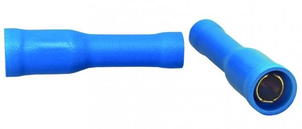 Sinuslive Rundsteckhülse RH-2,5 vergoldet blau 2,5mm² - 4mm² 10 Stück
