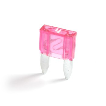 Kfz-Flachstecksicherung Mini rosa 4A