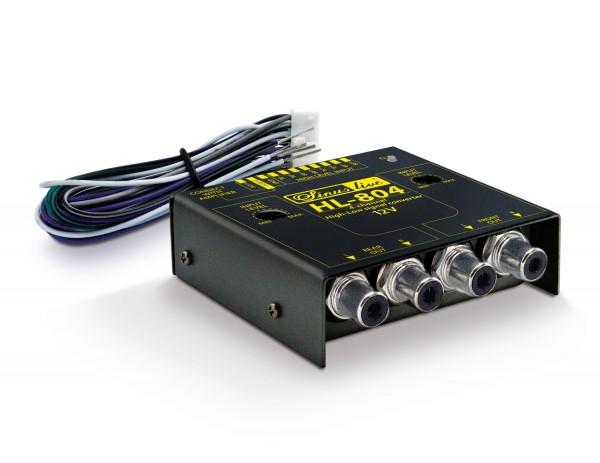Sinuslive HL-804 High/Low-Level-Converter 4-Kanal mit Remote