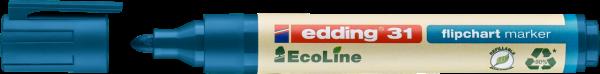 edding 31 EcoLine Flipchartmarker blau