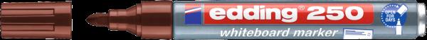 edding 250 Whiteboardmarker braun