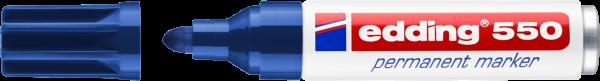 edding 550 Permanentmarker blau