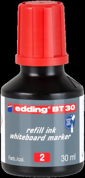 edding Whiteboardmarker BT 30 Nachfülltinte rot 30 ml