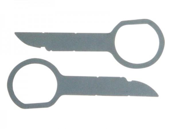 2x Entriegelungsbügel für VW/AUDI /MERCEDES