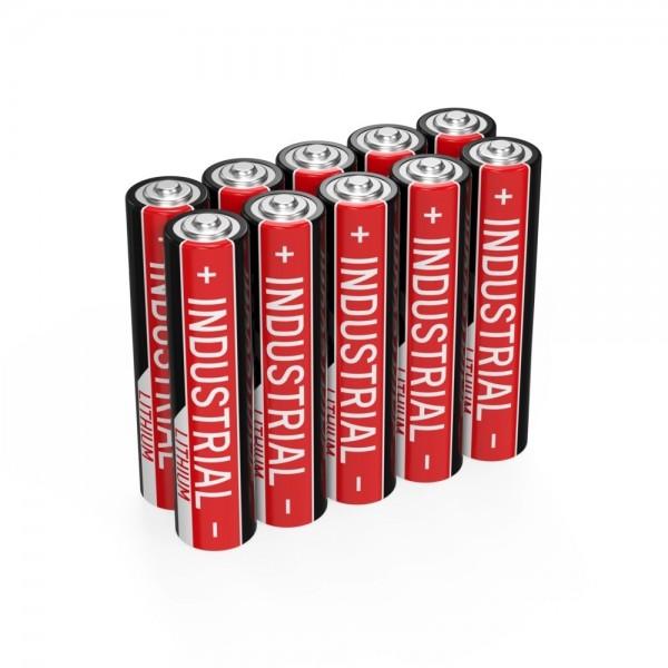 ANSMANN Industrie Alkaline-Batterie Micro AAA / LR03 / 1.5V 10er Set