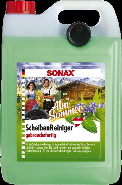 SONAX ScheibenReiniger gebrauchsfertig AlmSommer 5 L