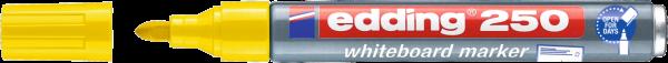 edding 250 Whiteboardmarker gelb
