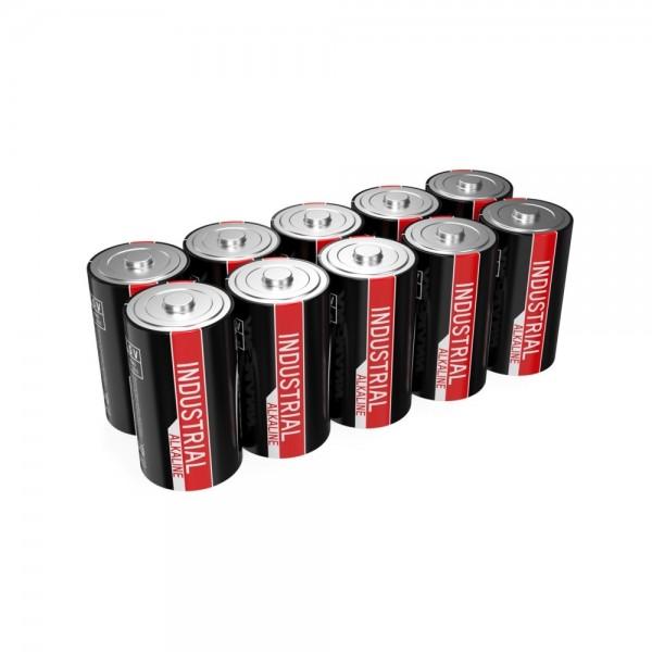 ANSMANN Industrie Alkaline-Batterie Mono D / LR20 / 1.5V 10er Set
