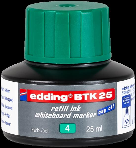 edding Whiteboardmarker BTK 25 Nachfülltinte grün 25 ml