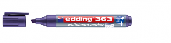 edding 363 Whiteboardmarker violett