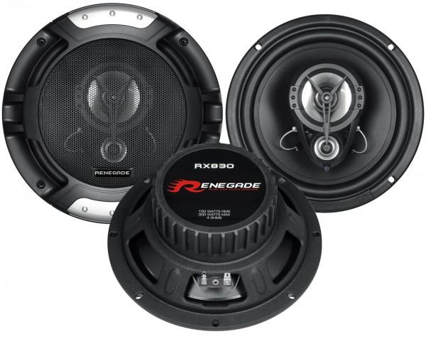 Renegade Triax-System 3-Wege RX-830 20cm 150 Watt 4 Ohm