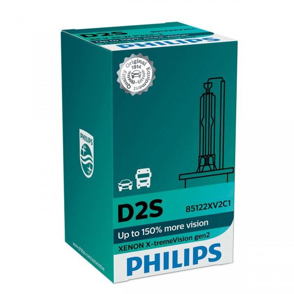 Philips Xenon X-tremeVision gen2 D2S P32d-2 35 W 85 V (1er Faltschachtel)