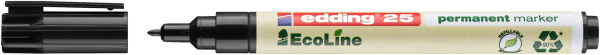 edding 25 EcoLine Permanentmarker schwarz
