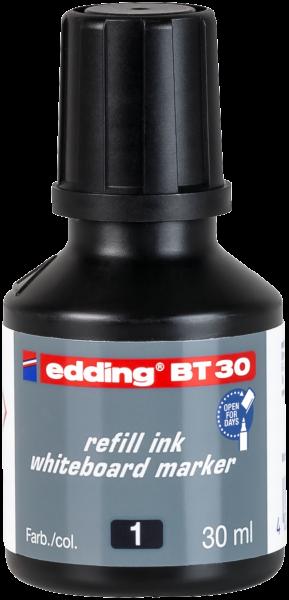 edding Whiteboardmarker BT 30 Nachfülltinte schwarz 30 ml