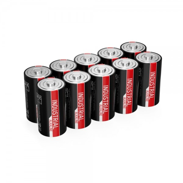 ANSMANN Industrie Alkaline-Batterie Baby C / LR14 / 1.5V 10er Set