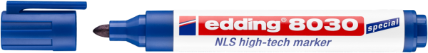 edding 8030 NLS High-Tech Marker blau