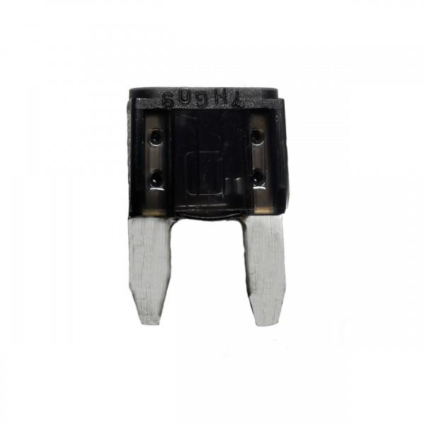 Kfz-Flachstecksicherung Mini schwarz 1A