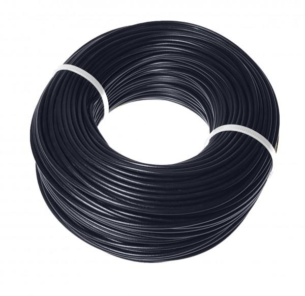baytronic Aderleitung Litze Kupferkabel 1,5mm² 100m schwarz