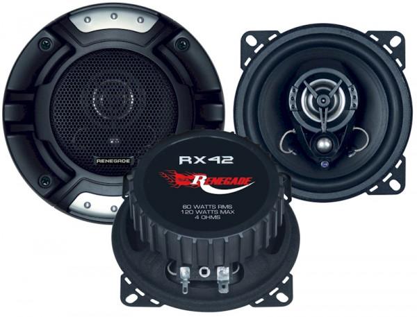 Renegade Koax-System 2-Wege RX-42 10cm 60 Watt 4 Ohm