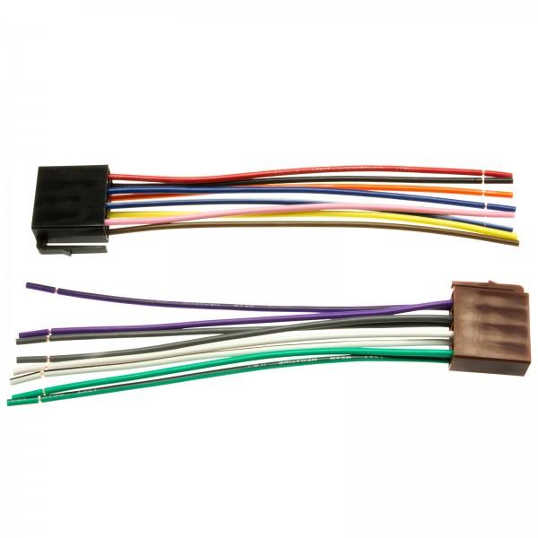 Adapter Universe Auto Radio Adapter Kabel Stecker Plug&Play DIN ISO 16 Pin Strom Lautsprecher