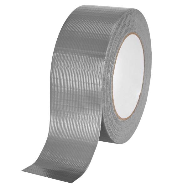 baytronic Gewebeband 48 mm x 50 m, silber