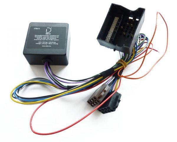 aktivinterface audi quadlock ohne bose kfz spezifische adapter kabel und adapter rund ums. Black Bedroom Furniture Sets. Home Design Ideas