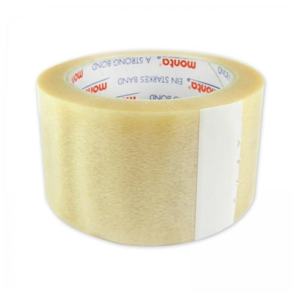 monta 283 PVC-Packband Paketklebeband 52my 50mm x 66m transparent
