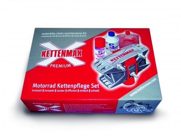 Dr. Wack S100 Premium Kettenmax Motorrad Kettenpflege Set 325 ml