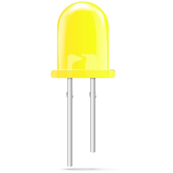 20x baytronic 3mm LED gelb