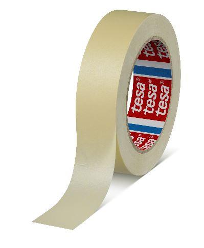 tesa krepp 4329, 50m x 25mm, pastellgelb