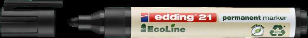 edding 21 EcoLine Permanentmarker schwarz