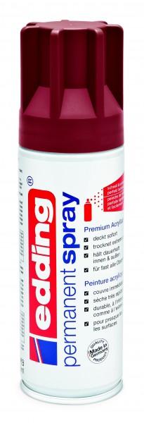 edding 5200 Permanentspray Premium Acryllack purpurrot matt 200 ml
