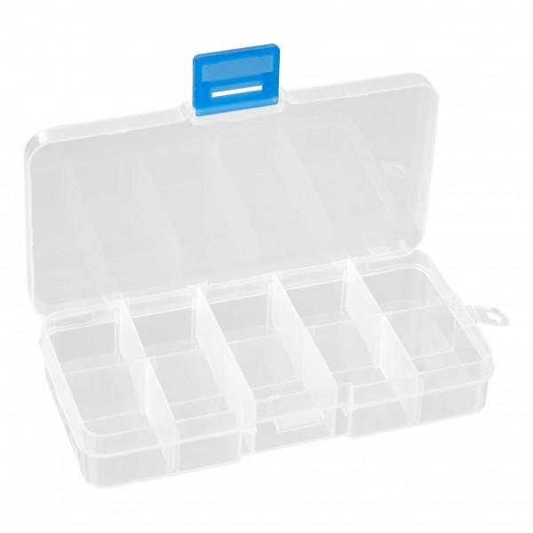 baytronic Plastik-Box mit 10 Fächern 125 x 65 x 20 mm