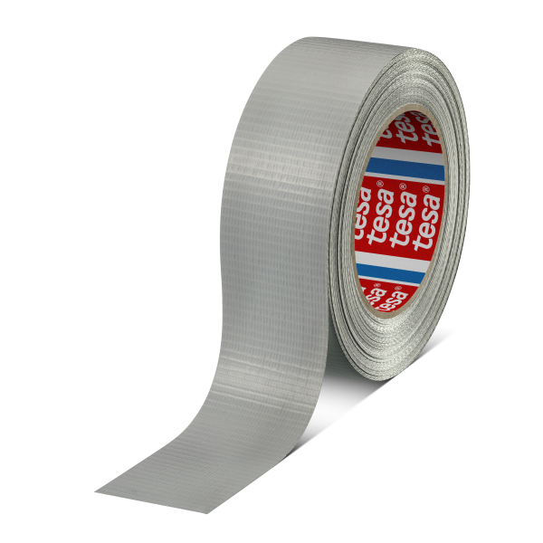 tesa duct tape 4662, 50m x 36mm, silber-matt