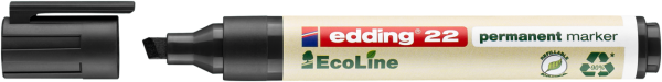 edding 22 EcoLine Permanentmarker schwarz