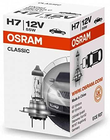 OSRAM CLASSIC H7 PX26d 12 V 55 W (1er Faltschachtel)