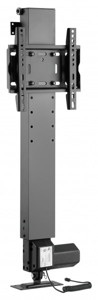 My Wall Motorisierter TV Einbaulift zum integrieren in Möbel zum Einbau in einem TV-Schrank, mit Fer
