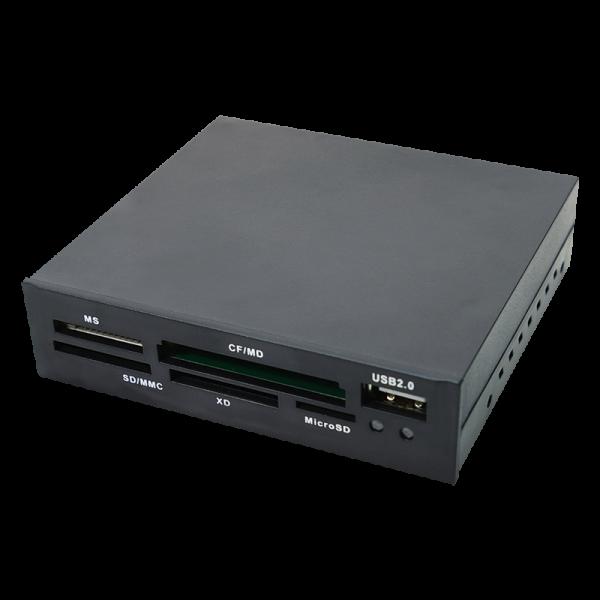 LogiLink® Cardreader All-in-One Intern 3,5 Zoll USB 2.0